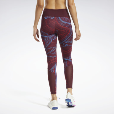 Dames Fitness & Training Bordeaux Lux Perform Technical Twist Legging