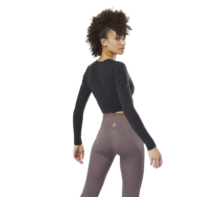 Women Studio Black Nature X Long Sleeve Top