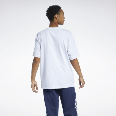 Men Classics White Classics Linear T-Shirt