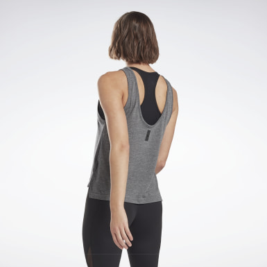 Kvinder Studio Black LES MILLS® ACTIVCHILL+COTTON Tank Top