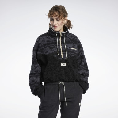 Women Classics Black Classics Winter Escape Fleece Jacket