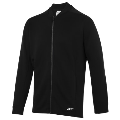 Men Fitness & Training Black TS Track Jacket
