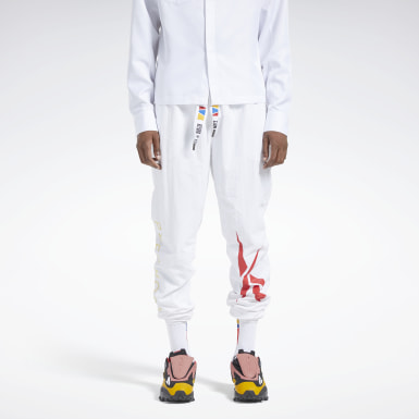 Classics White Reebok by Pyer Moss Pants