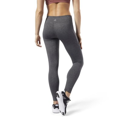 Dam Yoga Grå Reebok Lux Tights 2.0