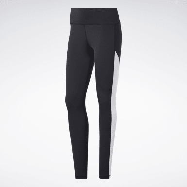 Dam Fitness & Träning Svart Workout Ready Logo Tights