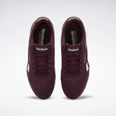 Men Classics Burgundy Reebok Royal Glide LX Shoes