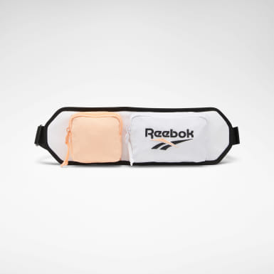 Classics White Retro Running Waist Bag