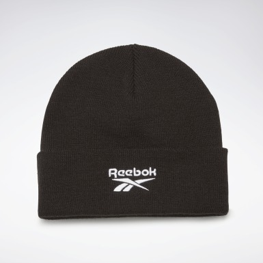 Fitness & Training Black Foundation Logo Beanie