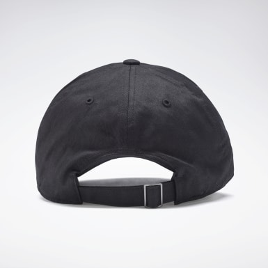 Running Black Active Foundation Badge Cap