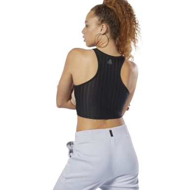 Dance Mesh Crop Top