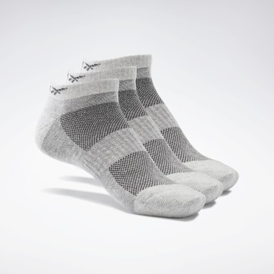 Fitness & Training Grey Active Foundation Low-Cut Socks 3 Pairs