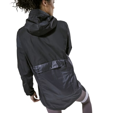 Women Lifestyle Black Training Supply Jacket