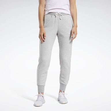 Women Fitness & Training Grey Training Essentials Logo Joggers