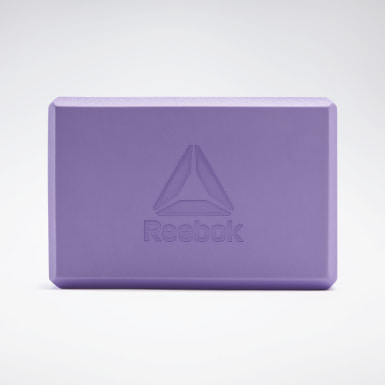 Fitness & Training Purple Yoga Block