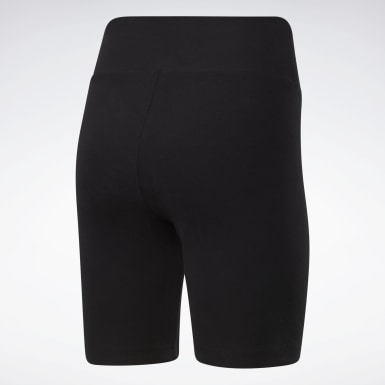 Women Classics Black Classics Foundation Legging Shorts