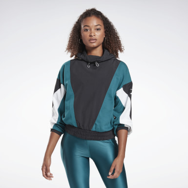 Women Pilates Turquoise Studio High Intensity Cover-Up