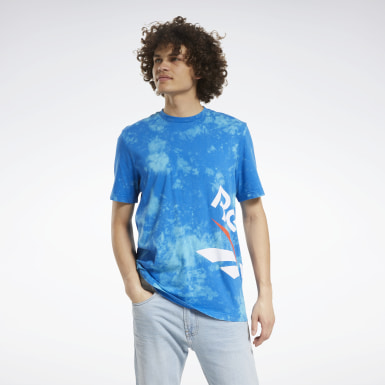 Classics Blauw Classics Tie-Dyed Vintage T-shirt