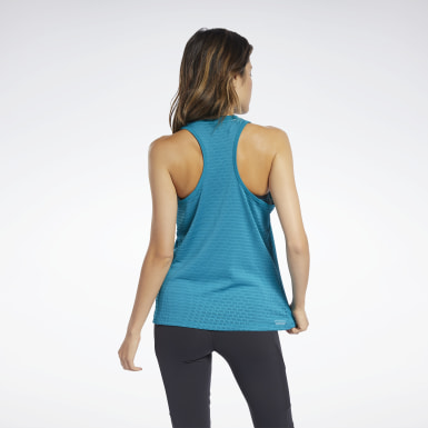 Women Dance Perforated Tank Top