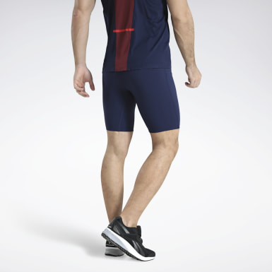 Calzas Cortas Boston Track Club Elite Azul Hombre Running