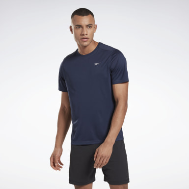 Men Terrengløping Blue Night Run Shirt