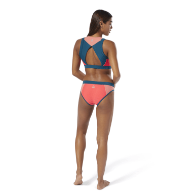 синий Купальник Swimwear Colorblock Swim Set