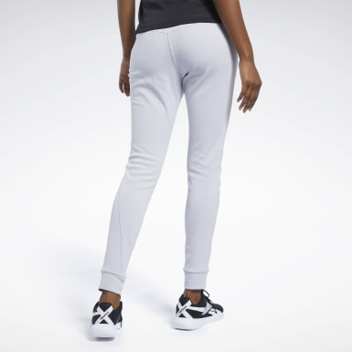 Women Fitness & Training Grey QUIK Cotton Pants