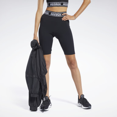 Women Training Black Meet You There Fitted Shorts