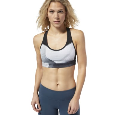 Women Studio Black LES MILLS® Hero Padded Racer Bra