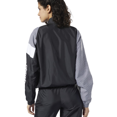 Women Classics Black Classics Vector Track Jacket