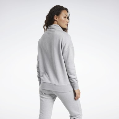 Sudadera Training Essentials Gris Mujer Fitness & Training