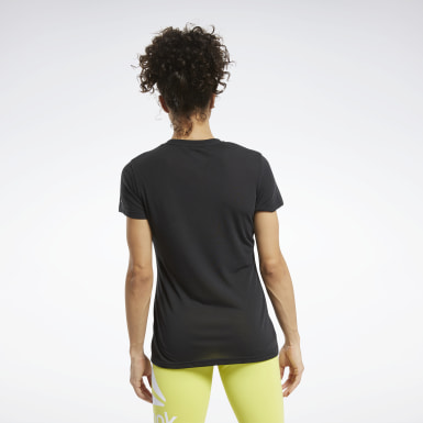 Women Training Black Reebok CrossFit® Read Graphic Tee