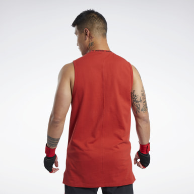 Men Combat Reebok Perforated Tank Top
