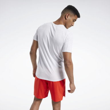 Men Training White ACTIVCHILL+COTTON Tee