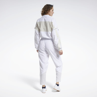 Women Classics White Classics Boilersuit