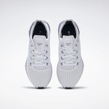 Women Running White Reebok Flashfilm 2.0 Shoes