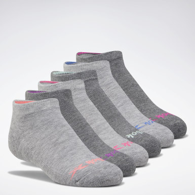 Girls Training Low-Cut Basic Socks Six Pack