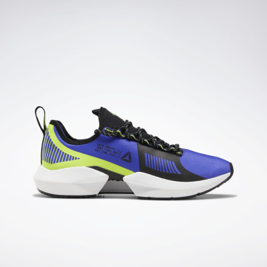 Running Blue Sole Fury TS Shoes