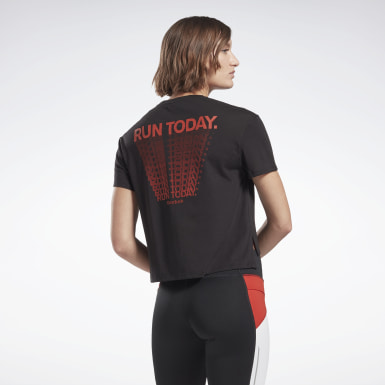 Women Running Black Heritage Run Graphic Tee