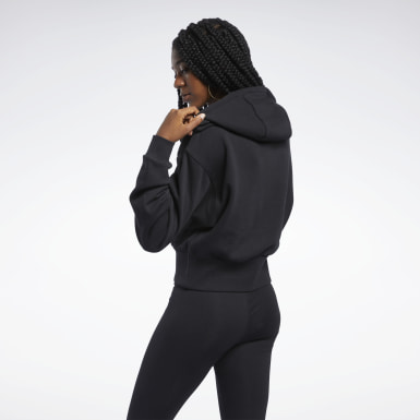 Women Classics Black Classics Foundation French Terry Hoodie