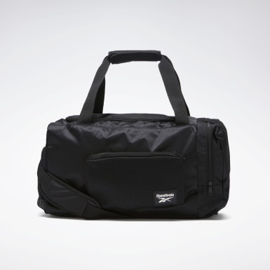 Women Training Black Tech Style Duffel Bag