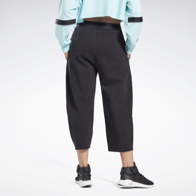 Women Studio Black Studio Fleece Joggers
