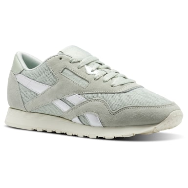 Women Classics Green Classic Nylon Cold Pastel