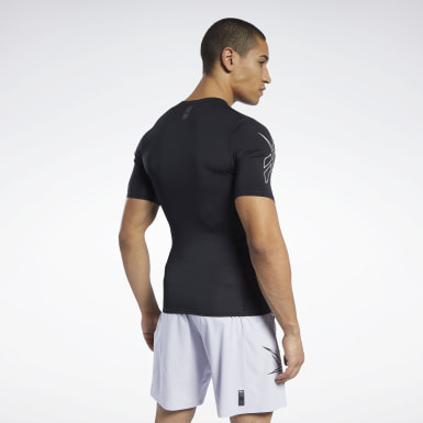 Men Fitness & Training Black United by Fitness Compression Tee