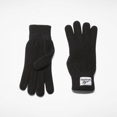 Classics Black Classics Foundation Label Gloves