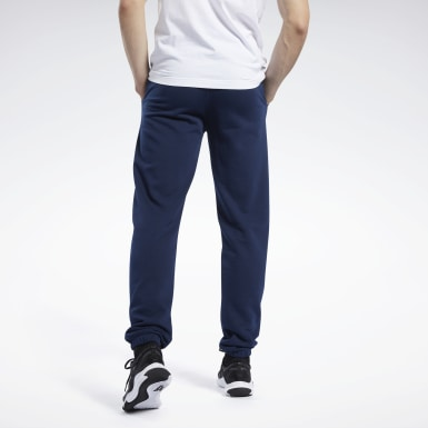 Men Training Blue Training Essentials Pants