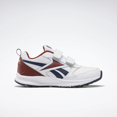 Boys Running White Reebok Almotio 5.0 Shoes
