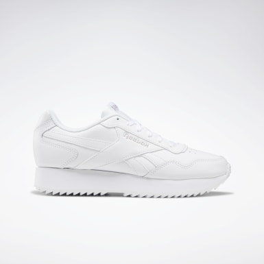 Women Classics White Reebok Royal Glide Ripple Double