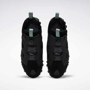 Classics Instapump Fury Trail Shoes Schwarz