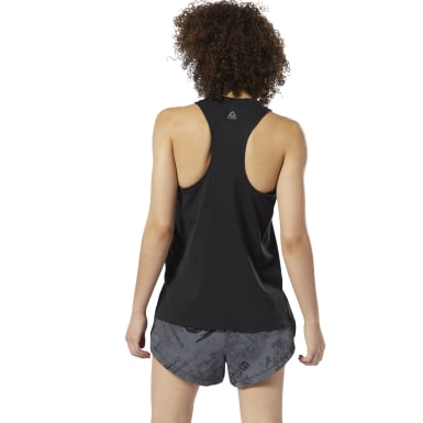 Canotta traforata da Combat in cotone perforato Blu Donna Fitness & Training
