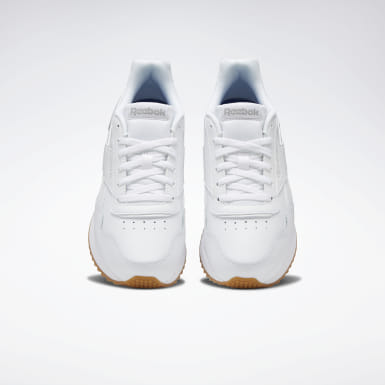 Women Classics White Reebok Royal Glide Ripple Double Shoes